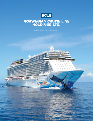Norwegian Cruise Line Holdings Ltd. annual report 2015