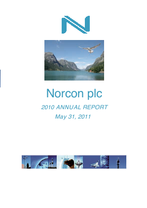 Norcon Plc annual report 2010