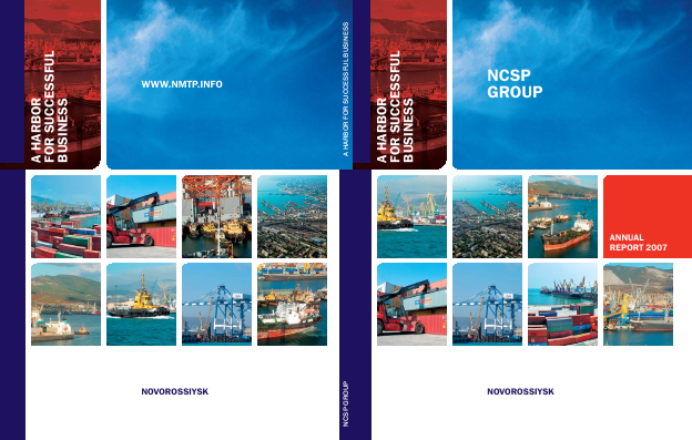 Novorossiysk Commercial Sea Port annual report 2007