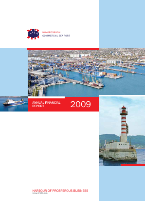 Novorossiysk Commercial Sea Port annual report 2009