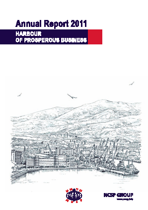 Novorossiysk Commercial Sea Port annual report 2011