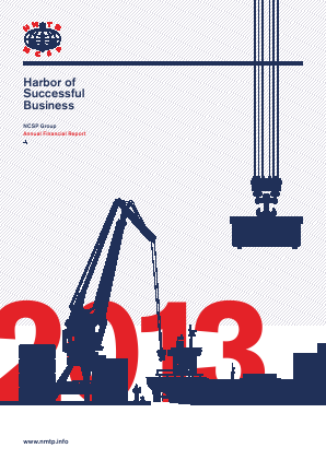 Novorossiysk Commercial Sea Port annual report 2013