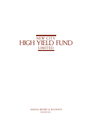 CQS New City High Yield Fund annual report 2014