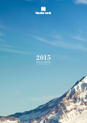Nordax Group annual report 2015
