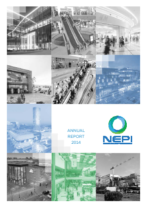New Europe Property Investments Plc annual report 2014