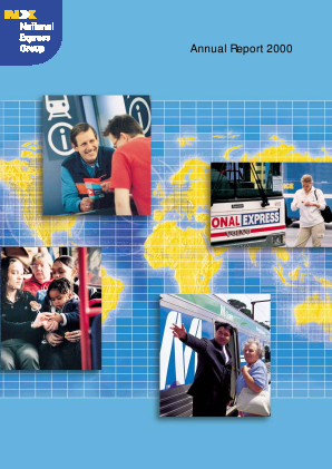 National Express Group annual report 2000