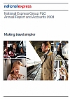 National Express Group annual report 2008