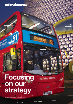National Express Group annual report 2012