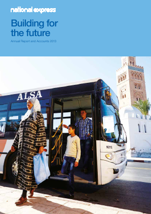 National Express Group annual report 2013
