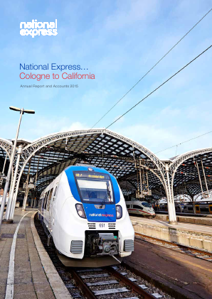 National Express Group annual report 2015