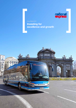 National Express Group annual report 2017