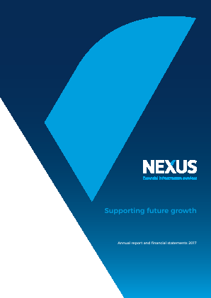 Nexus Infrastructure annual report 2017