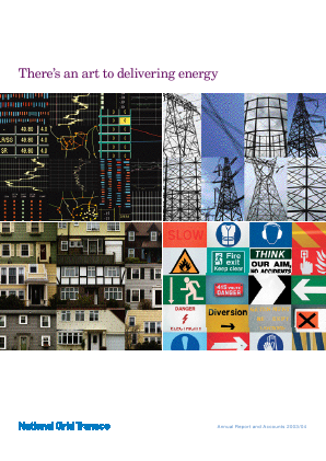 National Grid annual report 2004