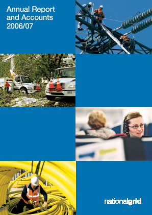 National Grid annual report 2007