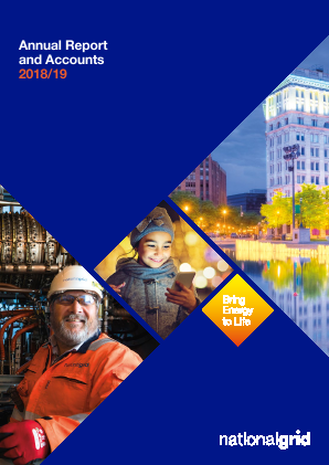 National Grid annual report 2019