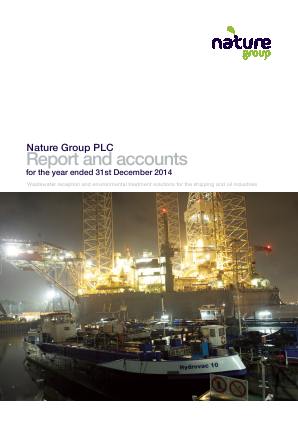 Nature Group Plc annual report 2014