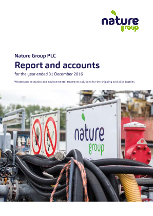 Nature Group Plc annual report 2016