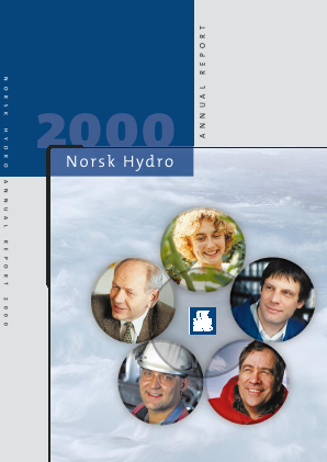 Norsk Hydro Asa annual report 2000