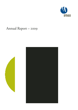 Norsk Hydro Asa annual report 2009