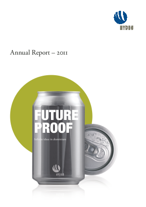 Norsk Hydro Asa annual report 2011