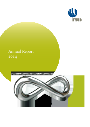 Norsk Hydro Asa annual report 2014