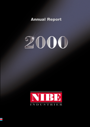 NIBE Industrier annual report 2000