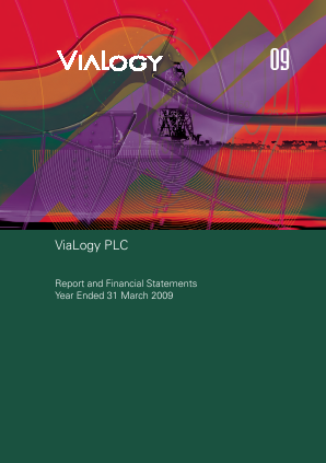 Premaitha Health Plc (formally ViaLogy PLC) annual report 2009