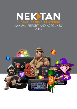 Nektan Plc annual report 2017