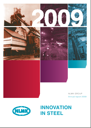 Novolipetsk Iron And Steel Corp annual report 2009