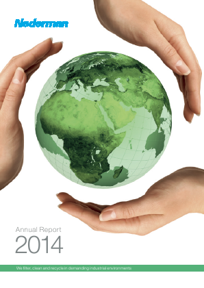 Nederman Holding annual report 2014