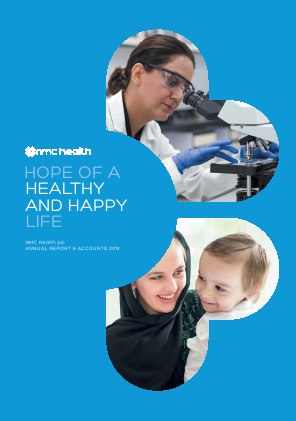 NMC Health Plc annual report 2014