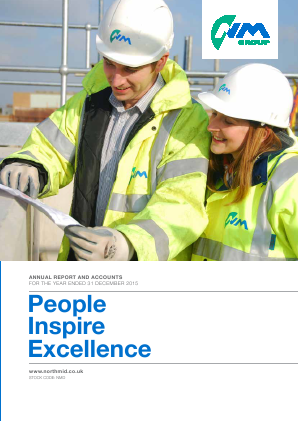 North Midland Construction annual report 2015