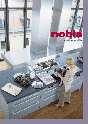 Nobia annual report 2000