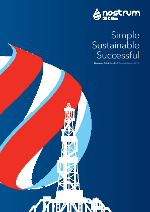 Nostrum Oil & Gas Plc annual report 2015