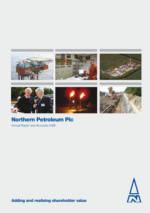 Cabot Energy (previously Northern Petroleum) annual report 2009