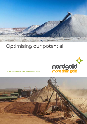 Nord Gold NV annual report 2012