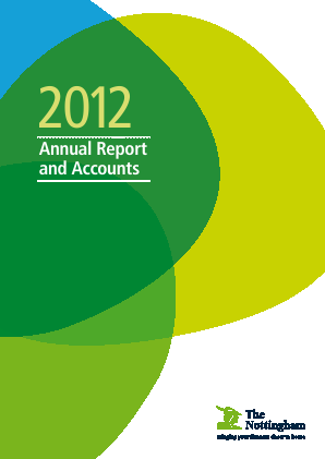 Nottingham Building Society annual report 2012