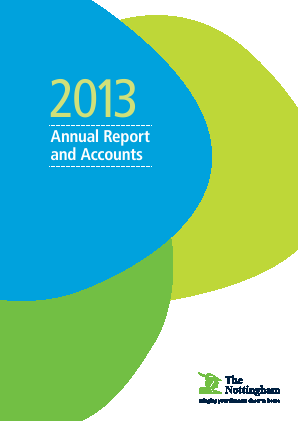 Nottingham Building Society annual report 2013