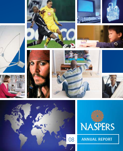 Naspers annual report 2008