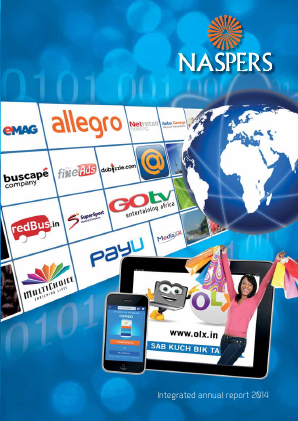 Naspers annual report 2014