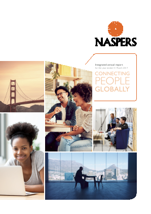 Naspers annual report 2017