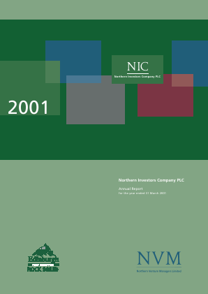 Northern Investors Company annual report 2001