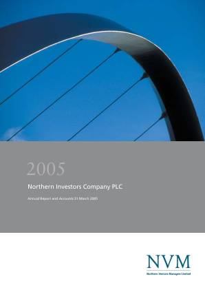 Northern Investors Company annual report 2005