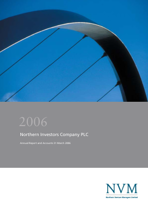 Northern Investors Company annual report 2006
