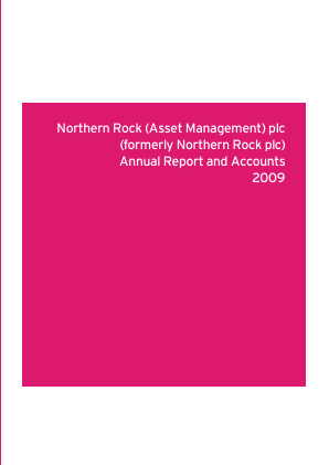 Northern Rock annual report 2009