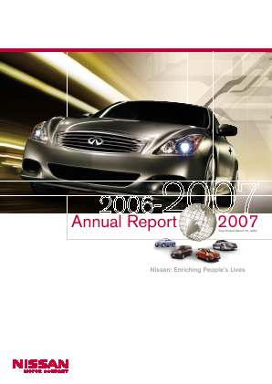 Nissan Motor annual report 2006