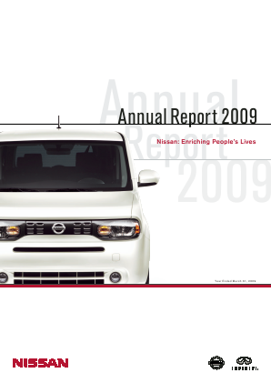 Nissan Motor annual report 2009