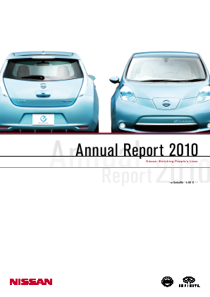 Nissan Motor annual report 2010