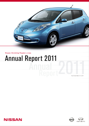 Nissan Motor annual report 2011