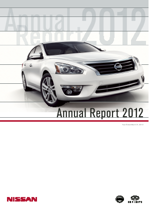 Nissan Motor annual report 2012